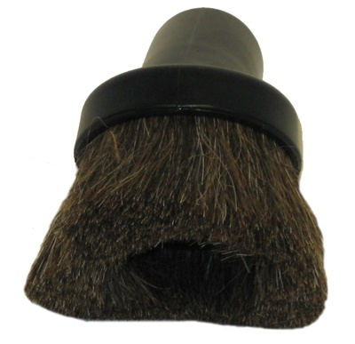 Round Dusting Brush - Black